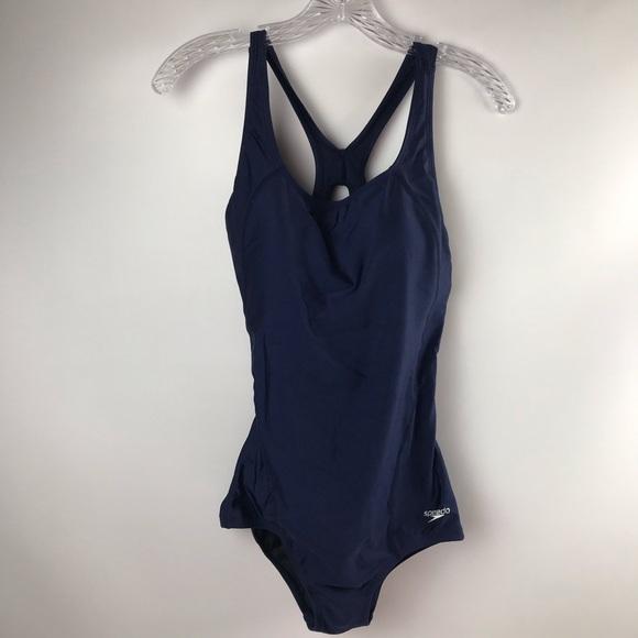 Speedo Other - Speedo one piece swimsuit Perfect Size 10 Navy